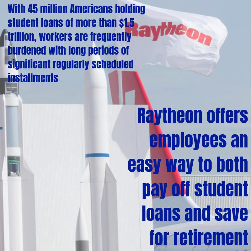 Raytheon Student Loan Program for Employees